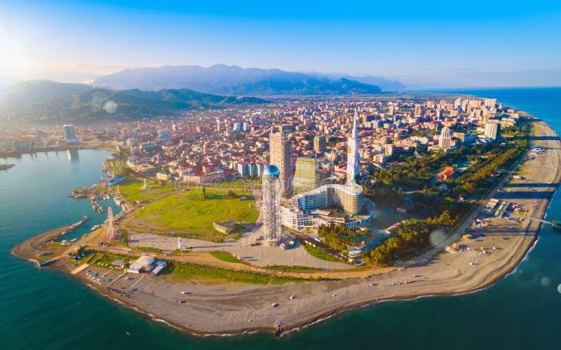Εναέρια άποψη Batumi - κεφάλαιο Adjara, Γεωργία στοκ εικόνες με δικαίωμα ελεύθερης χρήσης