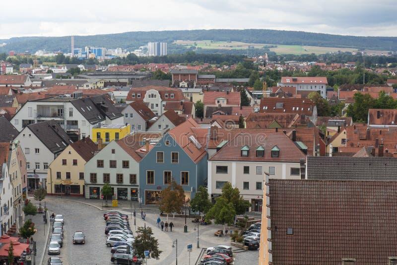 Εναέρια άποψη Schwandorf στοκ εικόνα