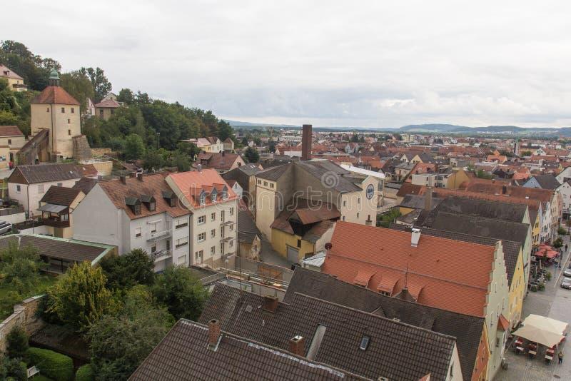 Εναέρια άποψη Schwandorf στοκ εικόνες