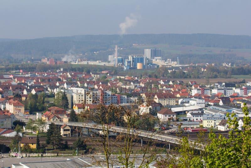 Εναέρια άποψη Schwandorf στοκ φωτογραφία με δικαίωμα ελεύθερης χρήσης