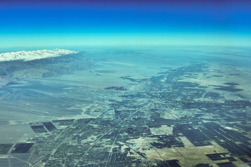 Εναέρια άποψη Urumqi στοκ φωτογραφία με δικαίωμα ελεύθερης χρήσης