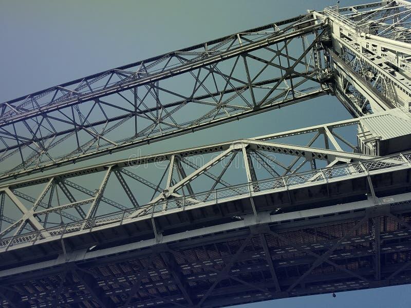 Εναέρια γέφυρα ανελκυστήρων στοκ εικόνα με δικαίωμα ελεύθερης χρήσης