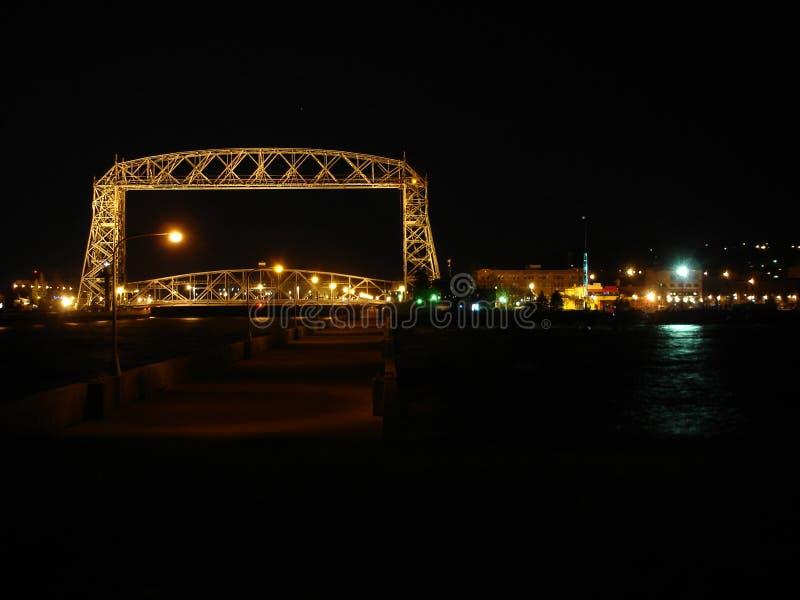 Εναέρια γέφυρα ανελκυστήρων στοκ εικόνες