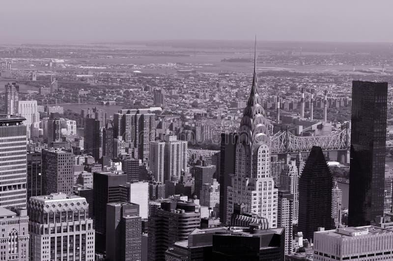 εναέρια Νέα Υόρκη στοκ εικόνα