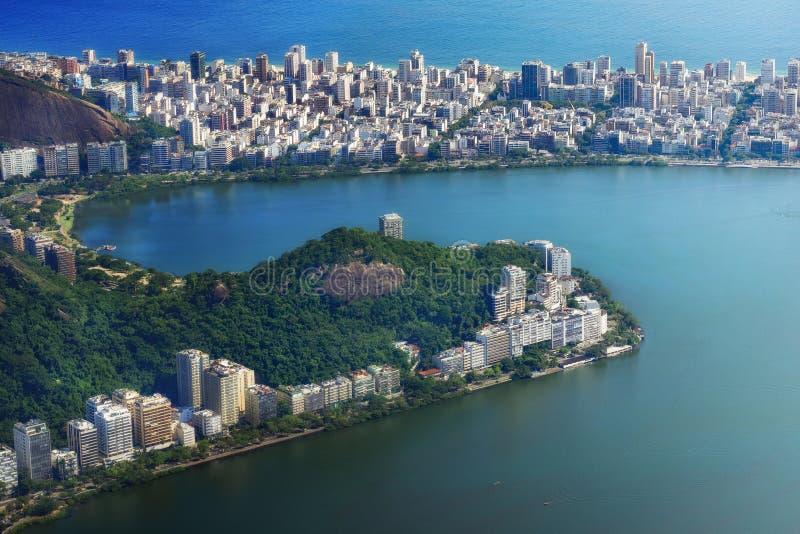 εναέρια όψη της Βραζιλίας de j στοκ φωτογραφία με δικαίωμα ελεύθερης χρήσης