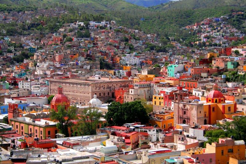 εναέρια όψη guanajuato στοκ φωτογραφίες με δικαίωμα ελεύθερης χρήσης
