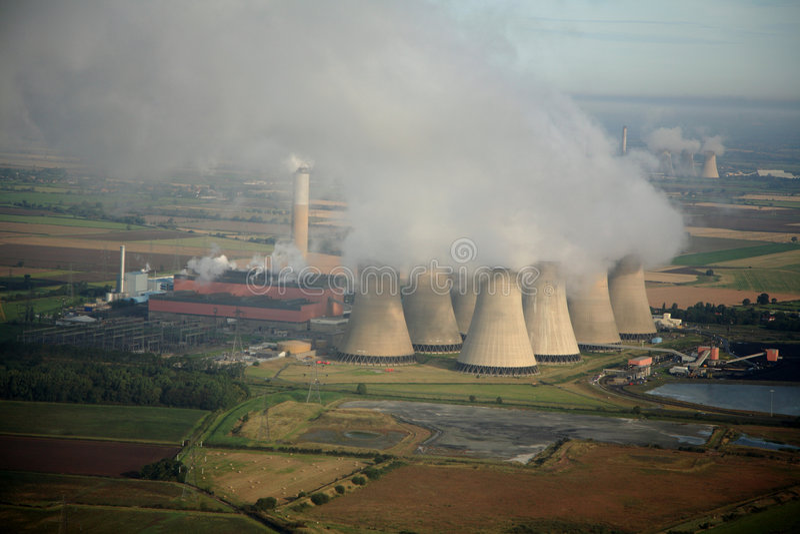 εναέριος σταθμός παραγωγής ηλεκτρικού ρεύματος στοκ φωτογραφίες με δικαίωμα ελεύθερης χρήσης