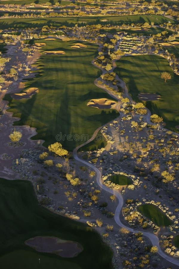 εναέριο γκολφ στοκ φωτογραφία με δικαίωμα ελεύθερης χρήσης