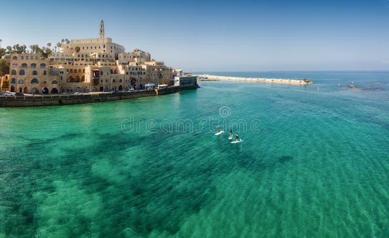 Εναέριο τοπίο Jaffa στοκ εικόνα με δικαίωμα ελεύθερης χρήσης