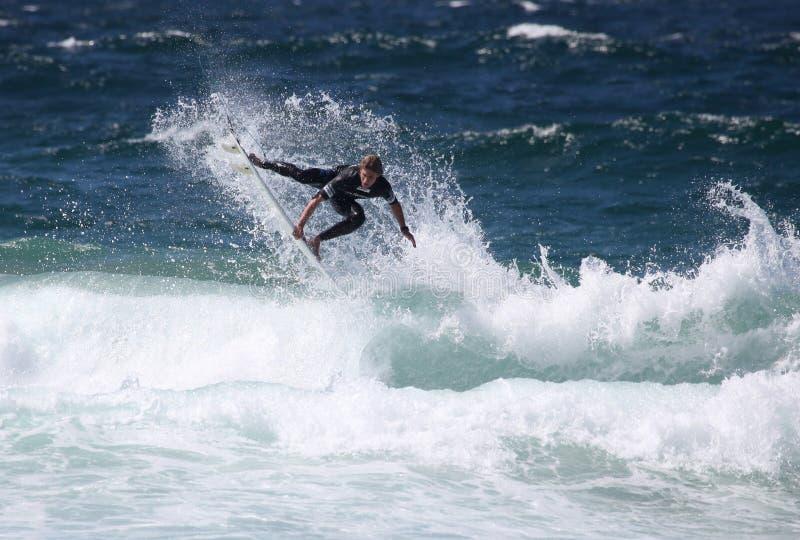 εναέριο surfer στοκ εικόνα