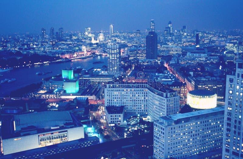 Εναέριο viev του Λονδίνου στοκ εικόνα με δικαίωμα ελεύθερης χρήσης