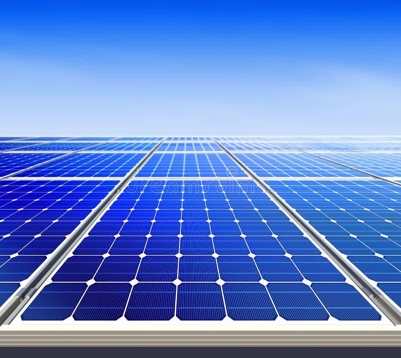 Εναλλακτική ηλιακή ενέργεια λ Στοκ Φωτογραφία
