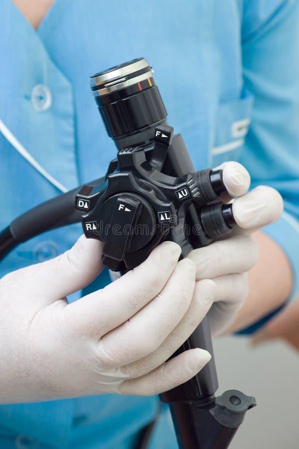 ενδοσκόπιο γαστροεντ&epsilon στοκ φωτογραφία με δικαίωμα ελεύθερης χρήσης