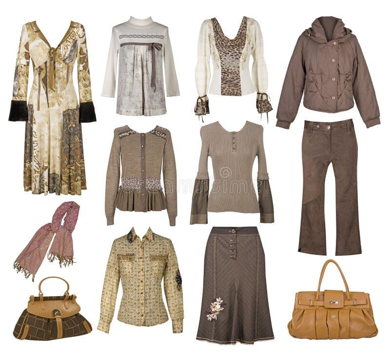 Ενδύματα μόδας συλλογής στοκ εικόνες