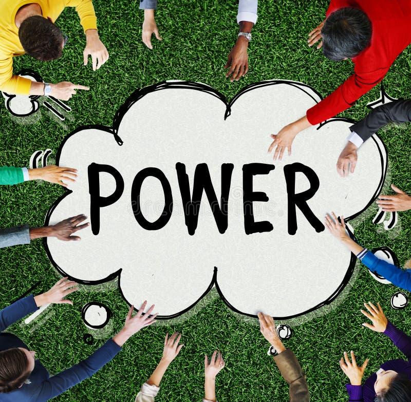 Ενεργειακή έννοια ικανότητας ικανότητας δύναμης πιθανή στοκ εικόνα με δικαίωμα ελεύθερης χρήσης