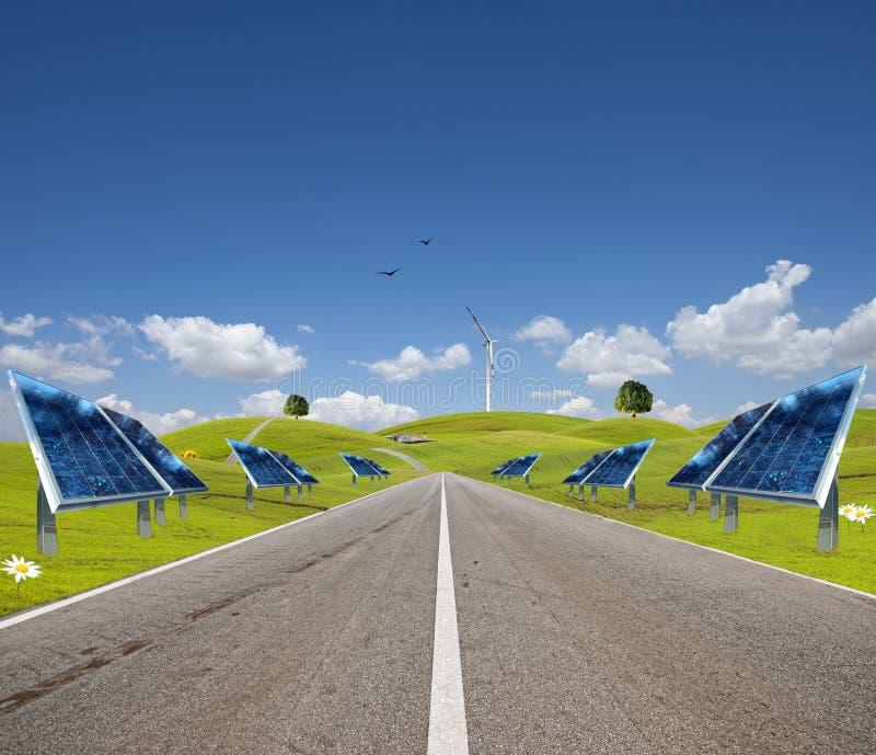 ενεργειακός νέος τρόπος στοκ εικόνα με δικαίωμα ελεύθερης χρήσης
