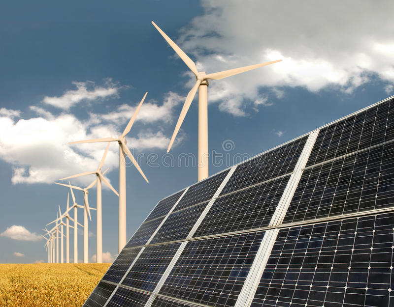 ενεργειακό μέτωπο - οι επ&io στοκ εικόνες