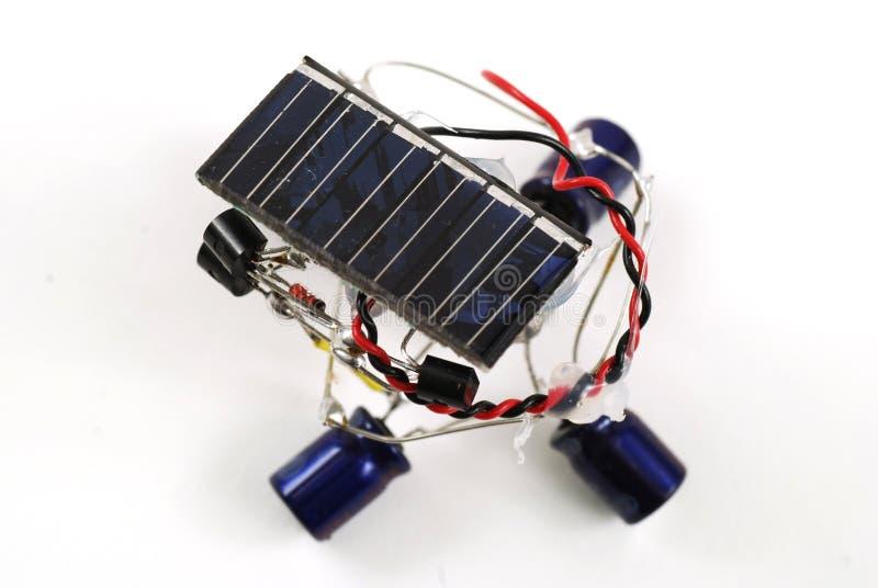 ενεργειακό ρομπότ ηλιακό στοκ φωτογραφία