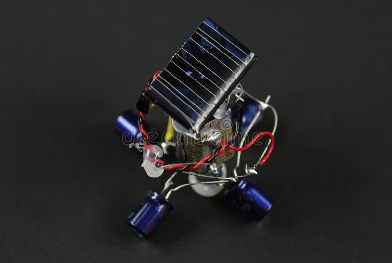 ενεργειακό ρομπότ ηλιακό στοκ φωτογραφία με δικαίωμα ελεύθερης χρήσης