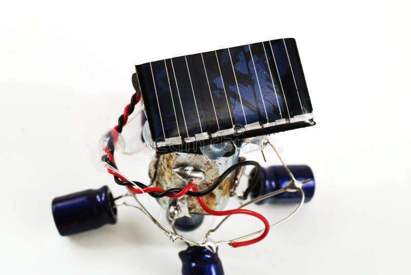 ενεργειακό ρομπότ ηλιακό στοκ φωτογραφίες