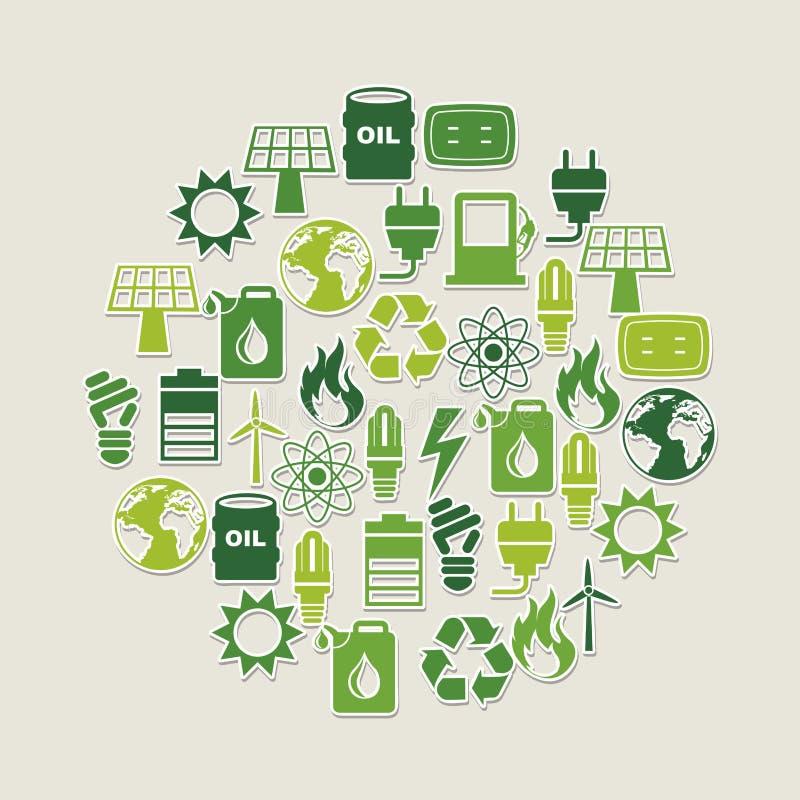 Ενεργειακό σχέδιο ελεύθερη απεικόνιση δικαιώματος