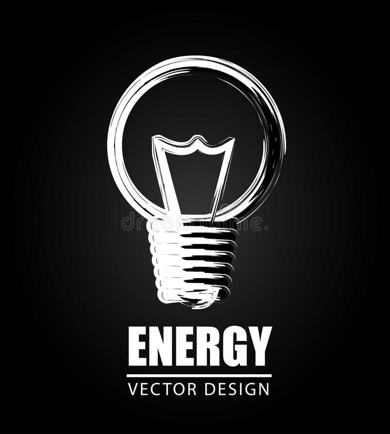 Ενεργειακό σχέδιο διανυσματική απεικόνιση