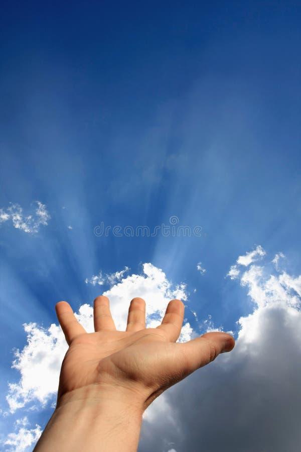 ενεργειακό χέρι στοκ φωτογραφία με δικαίωμα ελεύθερης χρήσης