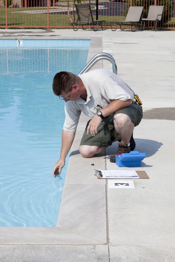 ενεργός χημική δοκιμή λιμν στοκ φωτογραφία με δικαίωμα ελεύθερης χρήσης
