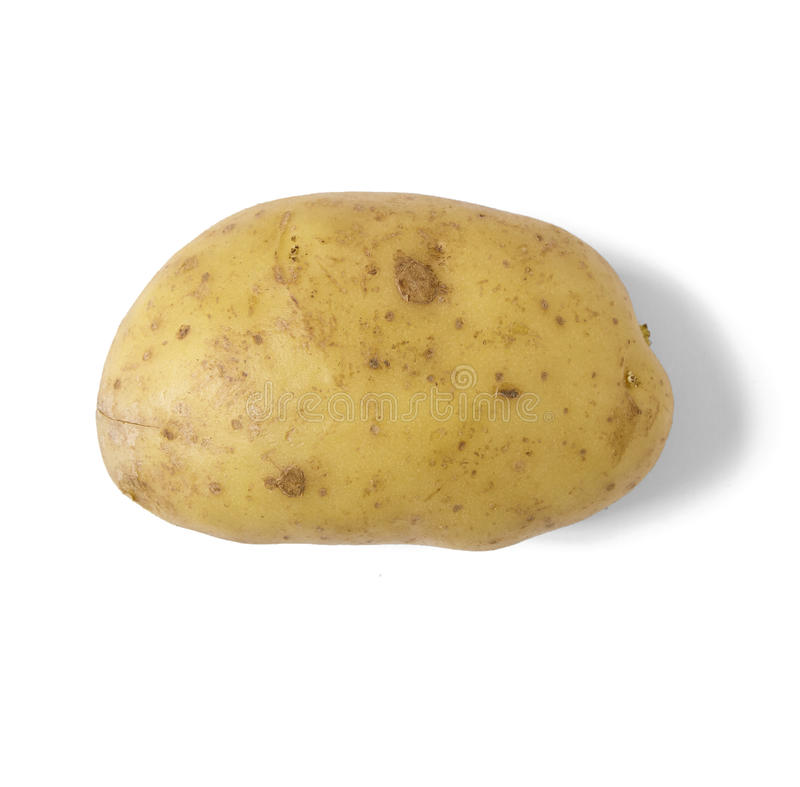 Ενιαία άψητη πατάτα ψησίματος στοκ φωτογραφία με δικαίωμα ελεύθερης χρήσης
