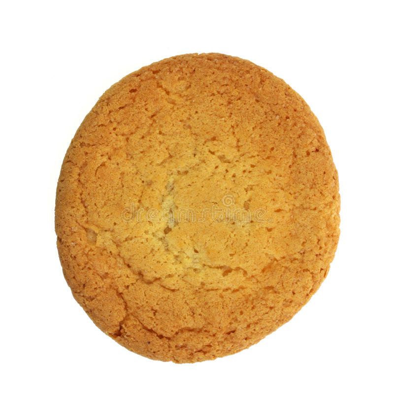 ενιαία ζάχαρη μπισκότων στοκ εικόνες