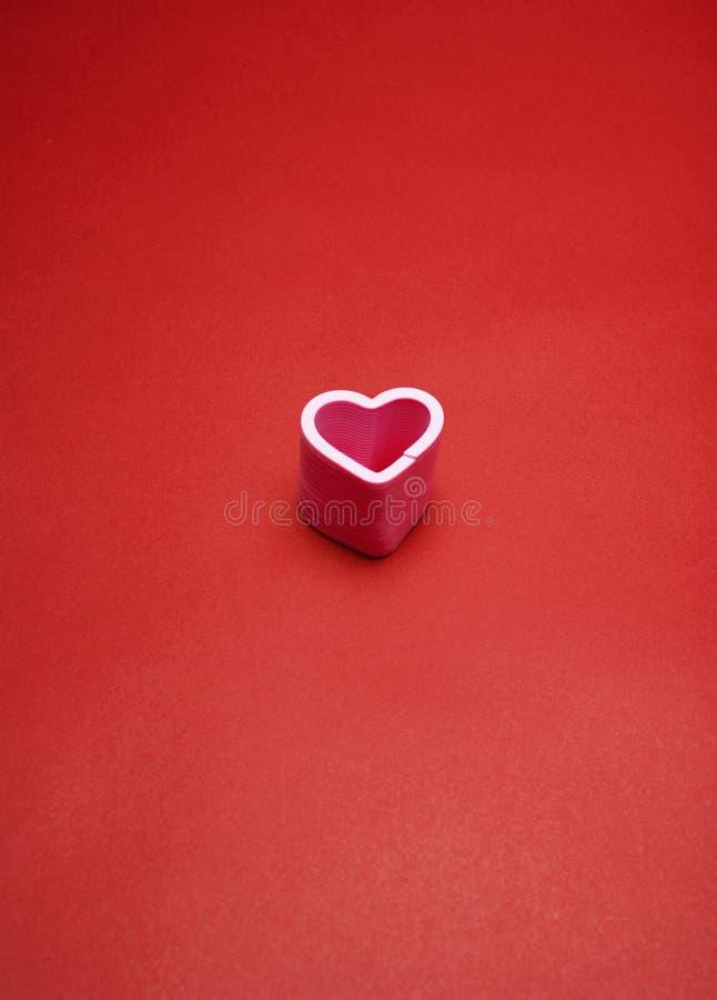 Ενιαία καρδιά αγάπης στοκ φωτογραφίες