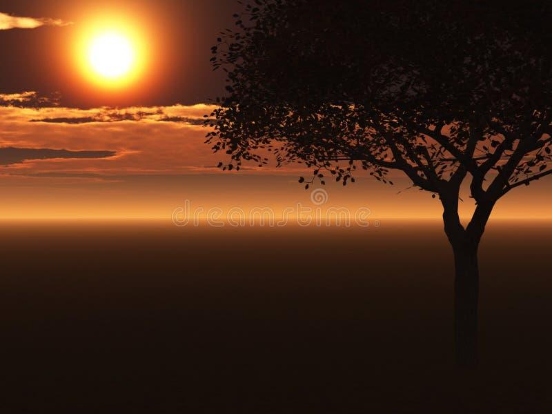 ενιαίο δέντρο ελεύθερη απεικόνιση δικαιώματος