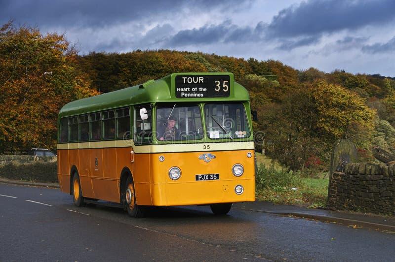1962 ενιαίο λεωφορείο καταστρωμάτων λεοπαρδάλεων Leyland στοκ φωτογραφίες