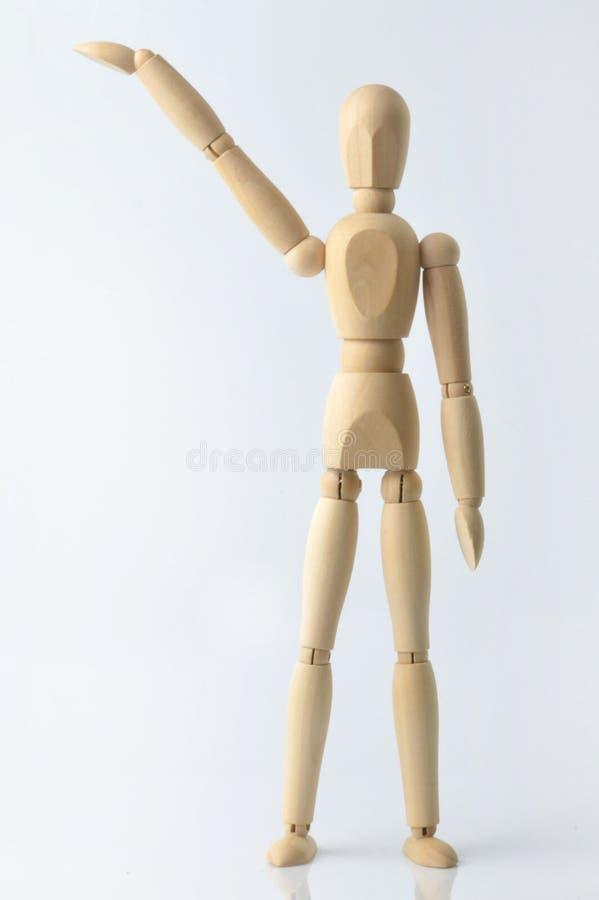 Ενιαίο ξύλινο ομοίωμα στοκ εικόνα