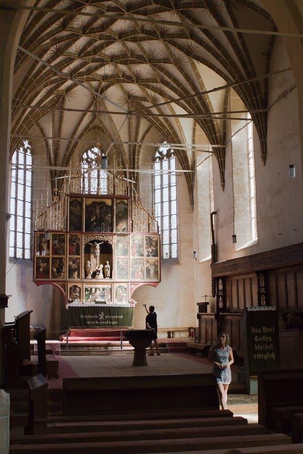 Ενισχυμένη Biertan εκκλησία στη Ρουμανία στοκ φωτογραφία με δικαίωμα ελεύθερης χρήσης