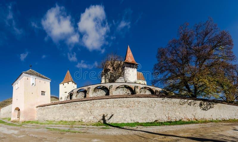 Ενισχυμένη Biertan εκκλησία, Τρανσυλβανία στοκ φωτογραφίες με δικαίωμα ελεύθερης χρήσης