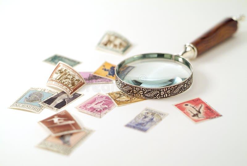 ενισχύοντας γραμματόσημα στοκ εικόνες