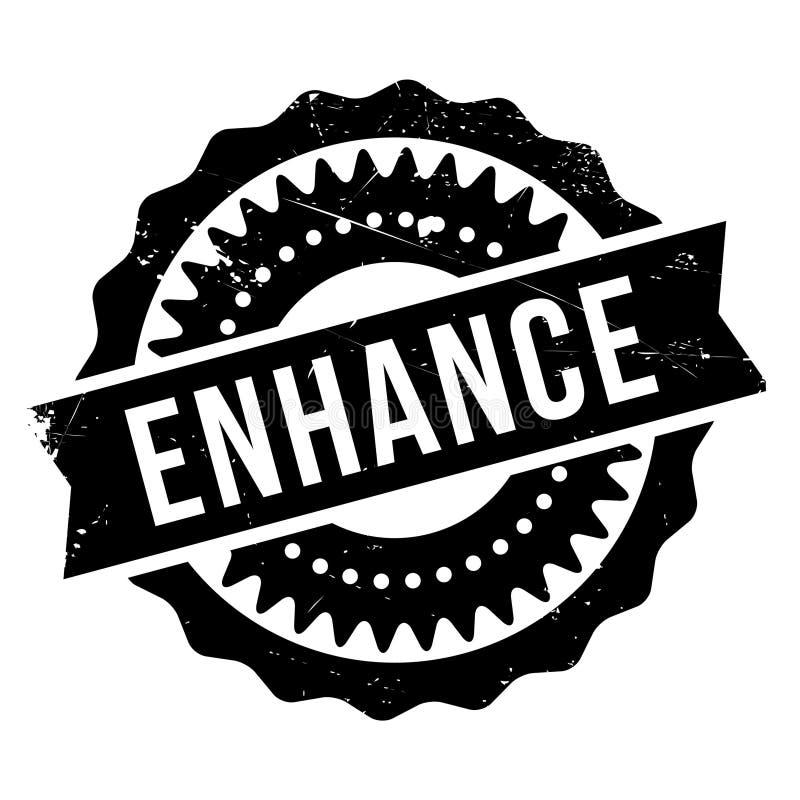 Ενισχύστε το λάστιχο γραμματοσήμων grunge απεικόνιση αποθεμάτων