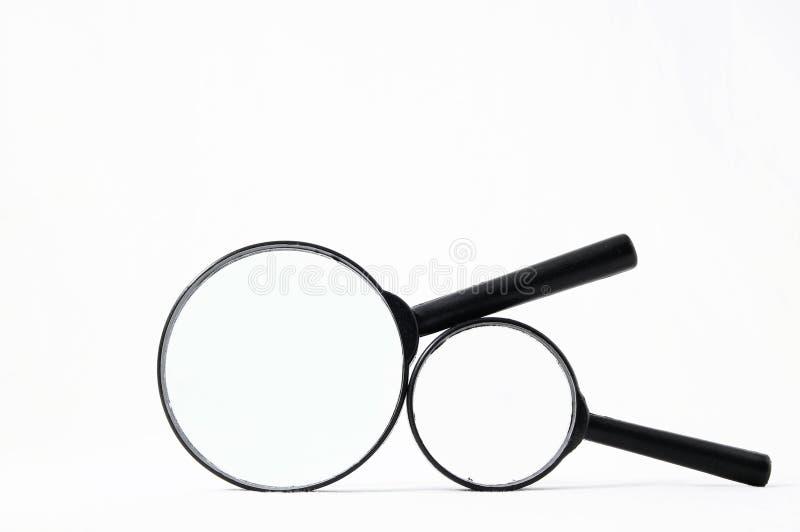 Ενισχύστε το γυαλί Loupe στοκ φωτογραφίες με δικαίωμα ελεύθερης χρήσης