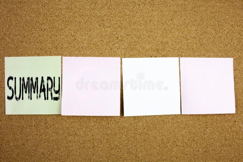 Εννοιολογική έμπνευση τίτλων κειμένων γραψίματος χεριών που παρουσιάζει συνοπτική επιχειρησιακή έννοια για τη συνοπτική επιχειρησ στοκ εικόνες με δικαίωμα ελεύθερης χρήσης