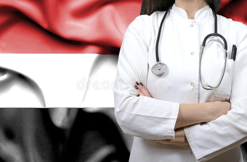 Εννοιολογική εικόνα του εθνικού υγειονομικού συστήματος στην Υεμένη στοκ φωτογραφία με δικαίωμα ελεύθερης χρήσης