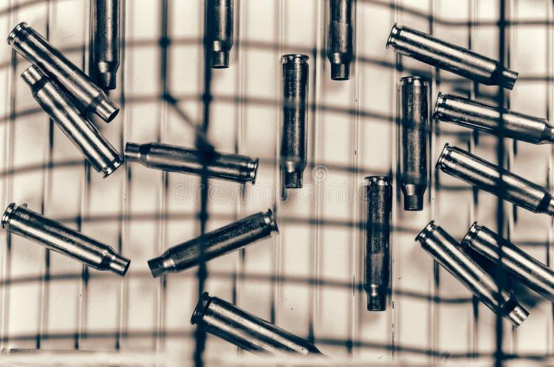 Εννοιολογικός πυροβολισμός στο έγκλημα στοκ εικόνες