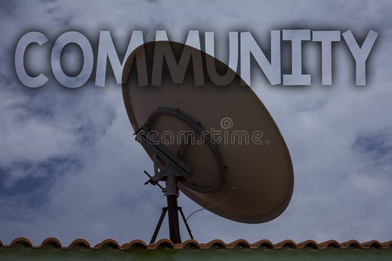 Εννοιολογικό χέρι που γράφει παρουσιάζοντας Κοινότητα Ομάδα IDE ενότητας συμμαχίας κρατικών συνεταιρισμών ένωσης γειτονιάς κειμέν στοκ φωτογραφίες με δικαίωμα ελεύθερης χρήσης