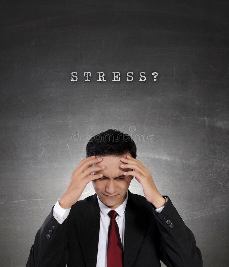 Εννοιολογική εικόνα των επιχειρηματιών και της πίεσης στοκ εικόνες με δικαίωμα ελεύθερης χρήσης