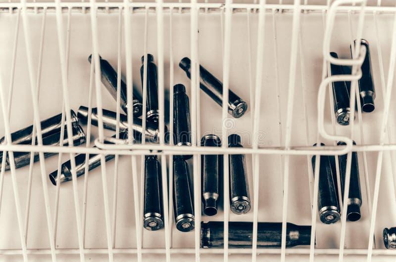 Εννοιολογικός πυροβολισμός στο έγκλημα στοκ φωτογραφία με δικαίωμα ελεύθερης χρήσης