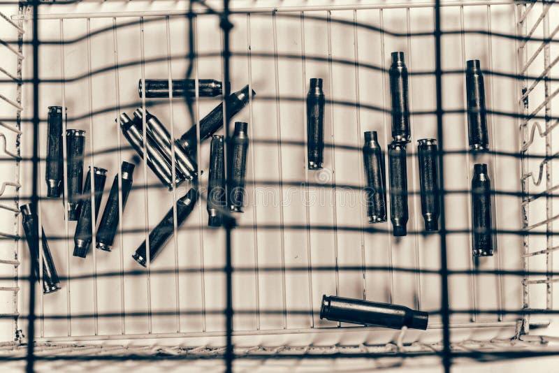 Εννοιολογικός πυροβολισμός στο έγκλημα στοκ εικόνα με δικαίωμα ελεύθερης χρήσης