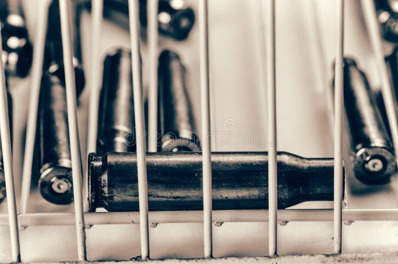 Εννοιολογικός πυροβολισμός στο έγκλημα στοκ φωτογραφίες με δικαίωμα ελεύθερης χρήσης
