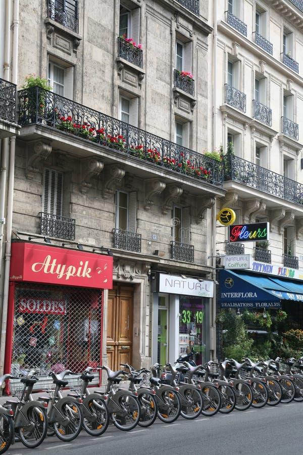 ενοίκιο του Παρισιού πο& στοκ εικόνες