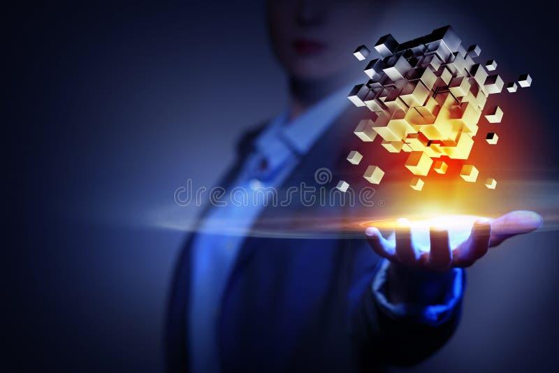 Ενσωματώνοντας νέες τεχνολογίες στοκ εικόνες