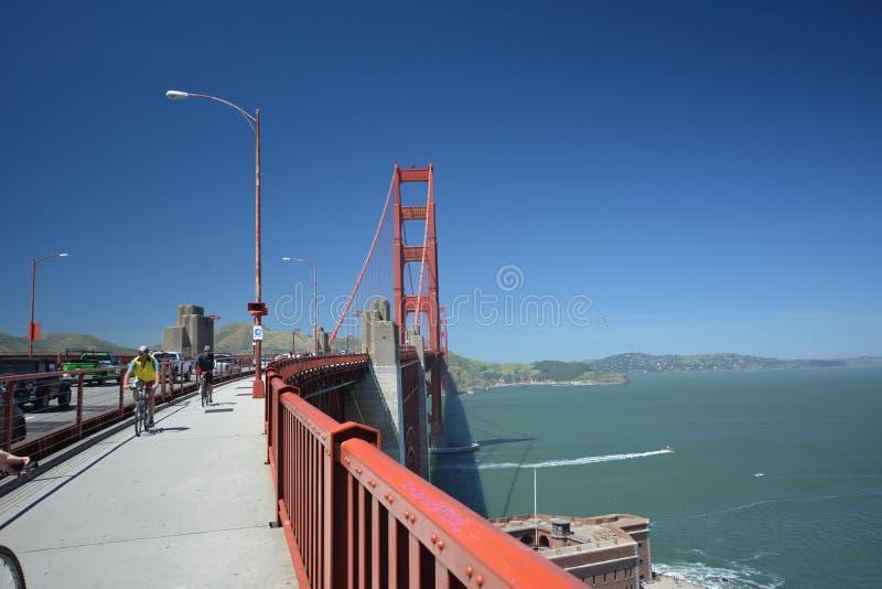 Εντυπώσεις από τη χρυσή γέφυρα πυλών στο Σαν Φρανσίσκο από τις 2 Μαΐου 2017, Καλιφόρνια ΗΠΑ στοκ εικόνες με δικαίωμα ελεύθερης χρήσης